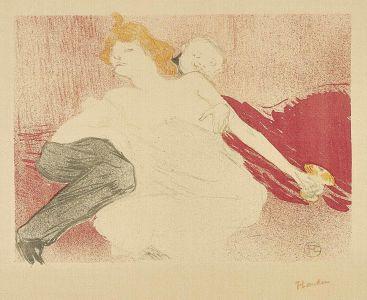 HENRI DE TOULOUSE-LAUTREC Débauche (deuxième planche), 1896