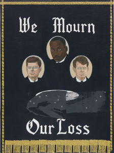 KERRY JAMES MARSHALL We Mourn Our Loss #1, 1997
