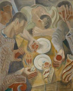 ANDRÉ MASSON Le repas, 1922. Featured in our 20th Century & Contemporary Art Day Sale, New York, May 2019.