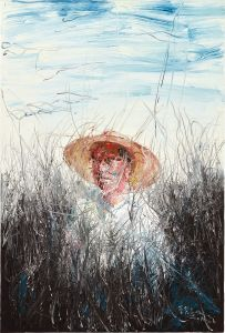 Zeng FanzhiA Man with a Straw Hat