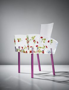 Shiro Kuramata'Miss Blanche' chair