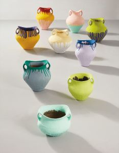 Ai WeiweiColoured Vases (in 9 parts)