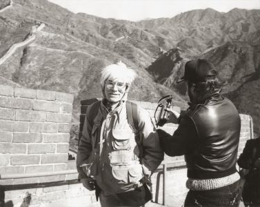 Andy WarholAndy Warhol at the Great Wall