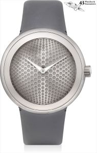IkepodLaurent Picciotto Collection: An unusual titanium wristwatch, designed by Marc Newson