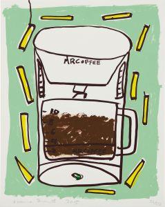 Katherine BernhardtMr. Coffee with Fries