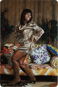 Mickalene ThomasJust an old-fashioned girl