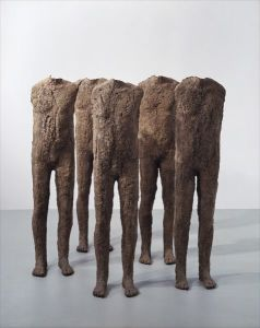 Magdalena AbakanowiczCrowd - Five figures
