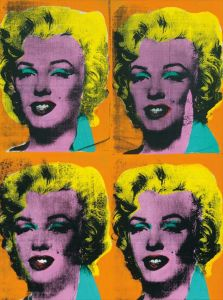 ANDY WARHOL Four Marilyns, 1962