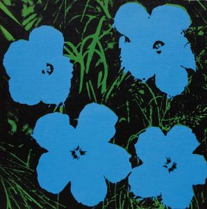 ANDY WARHOL Flowers, 196