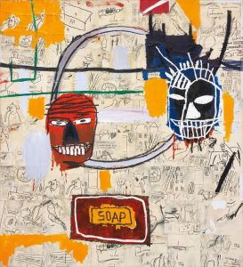 JEAN-MICHEL BASQUIAT Untitled (Soap), 1983-84