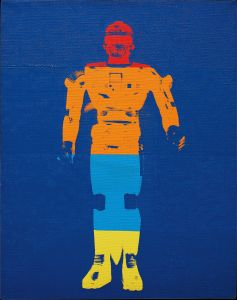 ANDY WARHOL Flash Sharivan Robot, 1983