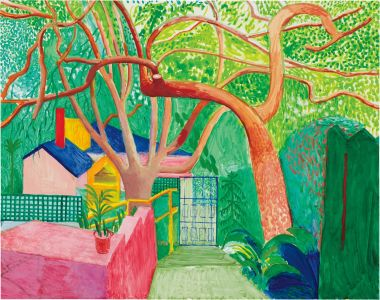 David HockneyThe Gate