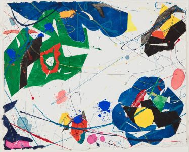 SAM FRANCIS Untitled, 1985