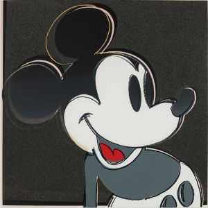 ANDY WARHOL Mickey Mouse, from Myths, screenprint with diamond dust, 1981