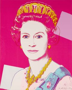 ANDY WARHOL Queen Elizabeth II of the United Kingdom, from Reigning Queens, screenprint, 1985