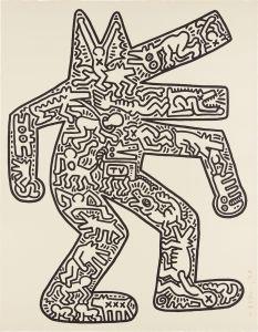 Keith HaringDog