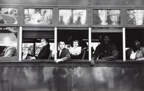 ROBERT FRANK Trolley, New Orleans, 1955-1956
