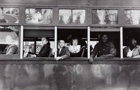 ROBERT FRANK New Orleans, Trolley, 1955