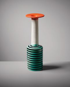 "Ettore Sottsass, Jr.Rare vase, model no. 181, from the ""Ceramiche"" series"