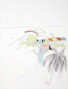 Ettore Sottsass, Jr.Architectural study