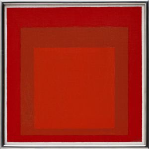 JOSEF ALBERS Study for Homage to the Square: Wet and Dry, 1969
