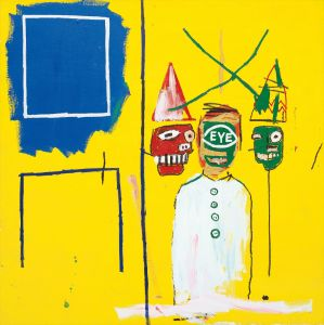 JEAN-MICHEL BASQUIAT Three Pontificators, 1984