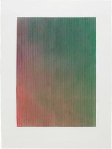 Tauba AuerbachEmbossment Painting #14