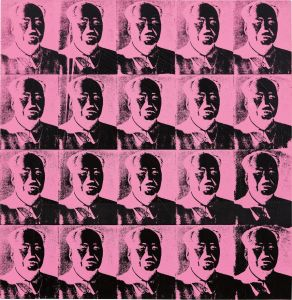 Andy Warhol20 Pink Mao's