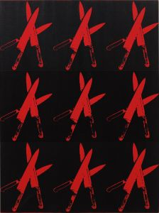 ANDY WARHOL Knives, 1982