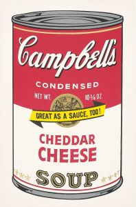 Andy WarholCheddar Cheese, from Campbell's Soup II
