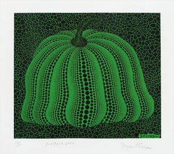 Yayoi KusamaPumpkin 2000 (Green)