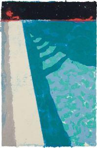David HockneySteps with Shadow F (Paper Pool 2)