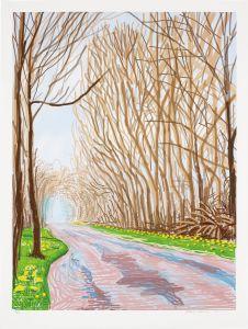 David Hockney1 April, from The Arrival of Spring in Woldgate, East Yorkshire in 2011 (twenty eleven)