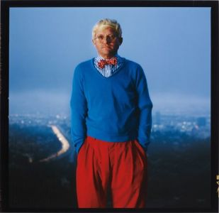 ANNIE LEIBOVITZ David Hockney, Los Angeles, 1983