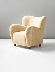 FLEMMING LASSEN Chair, circa 1930-40