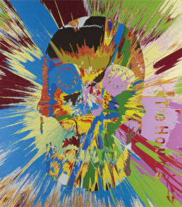 Damien Hirst Beautiful Hours Spin Painting Vi 2008 Phillips
