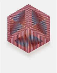 Carlos Cruz-Diez - Color Aditivo Permutable Serie D