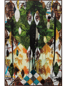 Rashid Johnson - Untitled Escape Collage