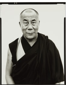 Richard Avedon - His Holiness The Dalai Lama, Kamataka, India, January, 1998
