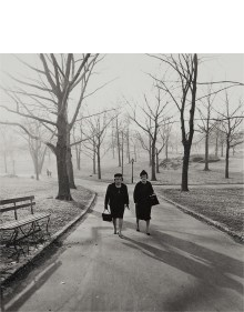 Diane Arbus - Two ladies walking in Central Park, N.Y.C.