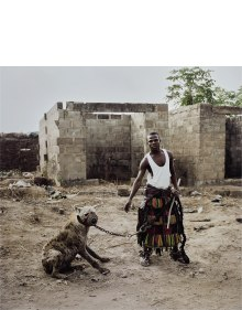 Pieter Hugo - Jatto with Mainasara, Ogere-Remo, Nigeria from The Hyena & Other Men
