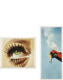 Alex Prager - 3:22 pm, Coldwater Canyon; Eye #5 (Automobile Accident)