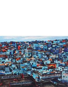 Steve McCurry - Blue City, Jodhpur, India