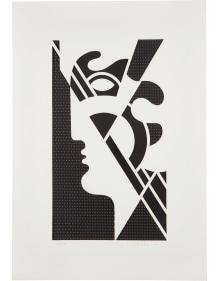 Roy Lichtenstein - Modern Head #5 from Modern Head Series