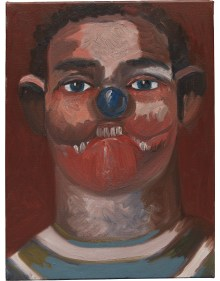 George Condo - The Athlete