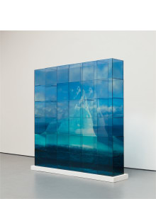 Teresita Fernández - Quiet Ice (Blue)