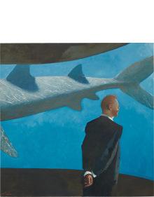 Julio Larraz - His Last Dream, 29 July