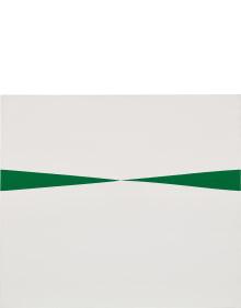 Carmen Herrera - Blanco y Verde