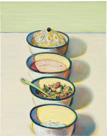 Wayne Thiebaud - Food Bowls