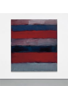 Sean Scully - Landline Red Veined